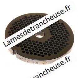 PLAQUE INOX  MOD.32/4,5 MM sans museau