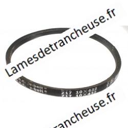 Courroie trapézoïdale  10X432 Z 17