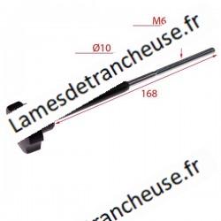 Tirant pour cache lame mod DIM. 6 X 168 longueur du contact micro 72mmx10