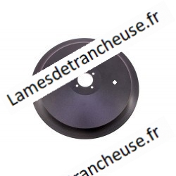 LAME AVEC TEFLON dentée pour fromage    370x57x4x300x22,5 FF 100Cr6 sur commande