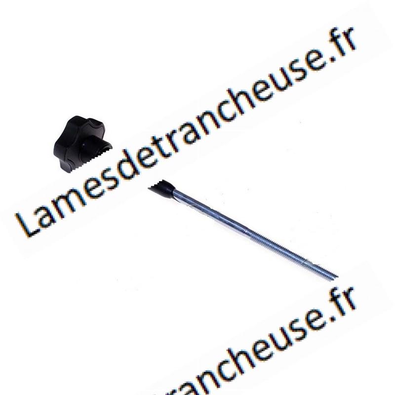 TIRANT CACHE LAME MOD.TSV250 CE S220AF F300TS-VR F250R Longueur 162 Ø 6 mm micro switch 65mm Ø10mm