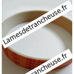 COURROIE PLATE  TB2 20X345...