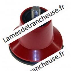 Pied trancheuse rouge D 06 sachet de 4