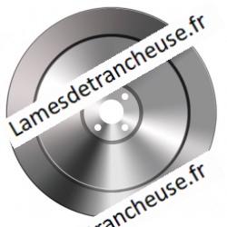 Lame 370X57X4X300X22.5 INOX