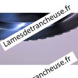 Lame 220X40X3X180X15,5 C45 Dentelée pain